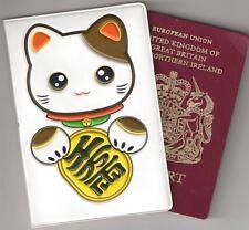 Titulaire du passeport japonais Lucky Cat chinois maneki-neko sac de voyage cadeau mignon