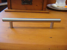 BRUSHED CHROME PULL HANDLE 18CM LONG,LIMITED  STOCK - A39