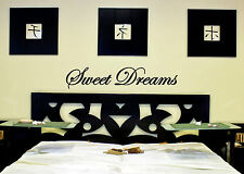 Sweet Dreams Nursery WALL Decal Sign VINYL STICKER removable