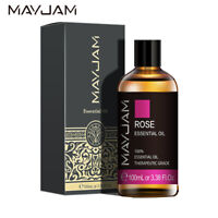 100ml ROSE Essential Oils Aromatherapy 100% Undiluted Oil Aroma Diffuser Burner