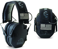 Over Ear Muffs Noise Cancelling Shooting Headphone Active Talking Men Black Best