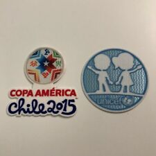 Copa America 2015 Chile - Player Sleeve Badges Patches - Argentina, Brazil
