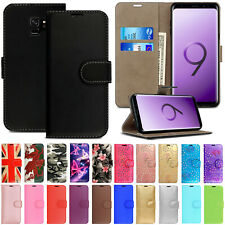 Case For Samsung Galaxy S9 S8 Plus S7 S6 Edge Leather Magnetic Wallet Flip Cover