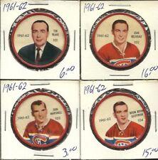 1961-62 Shirriff coin #101 Toe Blake