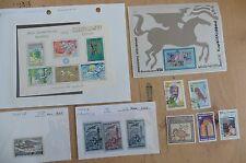 H11 Tunisia stamps souvenir sheets 584B Olympics 686 Bicentennial C16 208-209 +