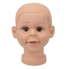 Deko Kopf Kind Damen Model Puppe Perücken Schminkkopf Schaufenster DA075