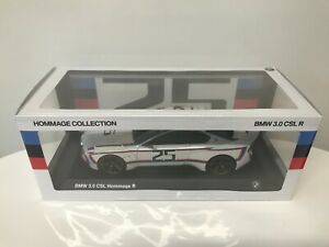 1/18 Norev BMW 3.0 CSL R HOMMAGE COLLECTION White