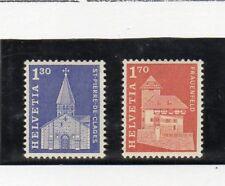 Suiza Monumentos Serie del año 1966 (DR-842)