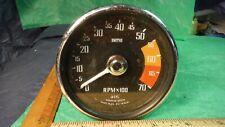 BF03 Smiths Tachometer 4 Cylinder RVI 1419/01 Vintage 1960s MG AUSTIN SUNBEAM