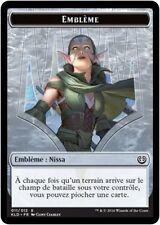 MTG Magic KLD - Token/Jeton - Emblem/Emblème : Nissa, #011E, French/VF
