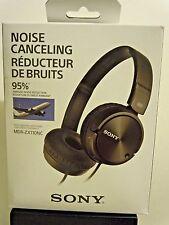 Sony MDR-ZX110NC Noise Canceling Headband Headphones-Black