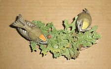 Boehm Bird Figurine Kinglet pair