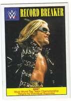 2016 Topps WWE Heritage Wrestling Record Breakers Insert #16 Edge