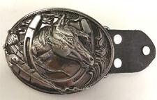 Red indian horse head & chaussures rodeo boucle de ceinture-pour cow-boys-western accessoires