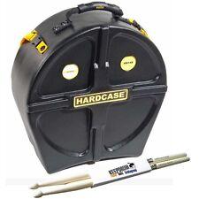 """Hardcase hn14s bordón-case 14"""" + KEEPDRUM Drumsticks"""