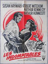 Affiche LES INDOMPTABLES The Lusty Men ROBERT MITCHUM Susan Hayward 60x80cm 1952