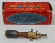 Grayburne Veri-Loopstick Ferrite Antenna Coil & Dos NOS Transistor Radio