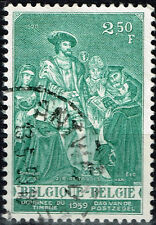 Belgium Art Famous 1520 Royal Painting stamp 1959