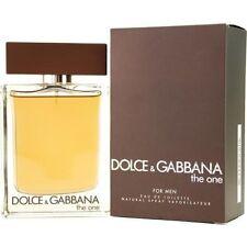 D&G The One Dolce & Gabbana 1.6 oz 1.7 FOR Men Eau de Toilette Spray *NIB SEALED