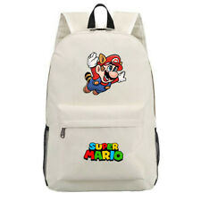 Game Super Mario Canvas Laptop Backpack Schoolbag for Boys Girls Travel Bags