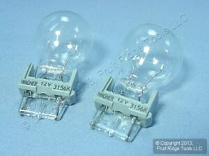 2 New Wagner BP3156LL Day Time Running Lamp Turn Signal Stop Auto Light Bulbs