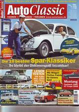 Auto Classic 5/08 Mercedes /8 W115/VW Bus T2/Mustang Fastback 1968/GT Cpe´/2008