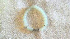 Crystal Moonstone Hand Weight Lifting Charm Bracelet Jewelry Workout Mens Health
