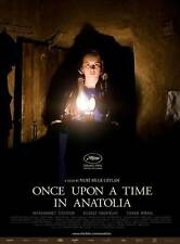 ONCE UPON A TIME IN ANATOLIA Movie Promo POSTER Muhammet Uzuner Yilmaz Erdogan