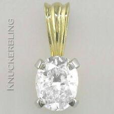 """Oval 16 - 17.99"""" Fine Diamond Necklaces & Pendants"""