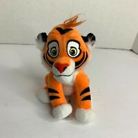 "DISNEY STORE ALADDIN RAJAH MINI BEAN BAG PLUSH TIGER 6 1//2/"" New with tags"