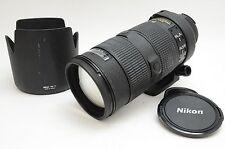 Nikon AF-S NIKKOR ED 80-200mm f/2.8 D Black Auto Focus Lens