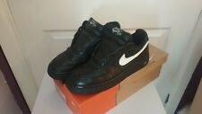 Rare Nike Air Force 1 Low Black & White Uk Size 9 with original box