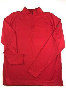 Under Armour New Playoff 2.0 1/4 Zip Long Sleeve Golf Shirt Men's Large 1244