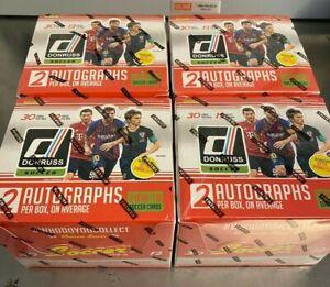 Lot of (4) 2018 Donruss Soccer Sealed Hobby Boxes - Optic Messi Ronaldo Mbappe++