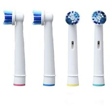 4 Pour Oral b Tetes Brossettes pour brosse dents électrique Braun OralB rechange