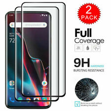 For OnePlus 8T 7T Pro 6T 6 5T 6 Nord Full Cover Tempered Glass Screen Protector