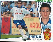LEONARDO PONZIO ARGENTINA REAL ZARAGOZA CROMO STICKER LIGA ESTE 2005 PANINI