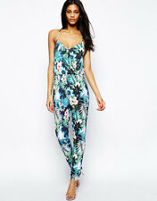 fea4ee03cf2 LIPSY LONDON LADIES FLORAL PRINT JUMPSUIT - UK SIZE 6 - BRAND NEW.