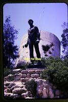 Statue in Israel in 1962, Original Slide aa 5-25b
