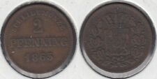 BAVARIA - BAVIERA. 2 PFENNING DE 1865.