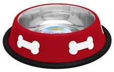 Stainless Steel Pet Bowl Dog Feeder Feeding Food Water Pet Dish Tray 16 OZ
