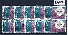 1996 Australian Pearls and Diamonds $1.20 Value X 10 Copies Fine Used    E357