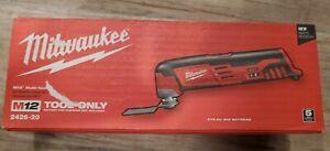 Milwaukee 2426-20 M12 12-Volt Cordless Oscillating Multi-Tool Bare Tool - NIB