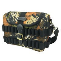 Tourbon Bullets Case Cartridge Storage Shotgun Speedloader Bag Hunting Shooting