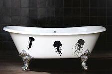 Jellyfish Family Fun Modern Bathroom Wall Art Decal Sticker