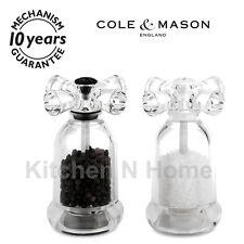Salt and Pepper mill set, Salt Pepper grinder, Cole & Mason Brand, Tap gift set