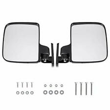 Fully Adjustable Universal Golf Cart Folding Side View Mirror Replacement (2ct)