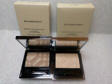 2 BURBERRY SHEER EYE SHADOW PALE BARLEY No 22 SILK & TRENCH No 02 NEW IN BOX
