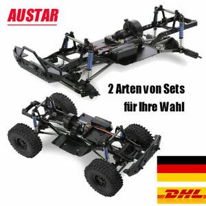 AUSTAR 313mm Radstand Fahrgestellrahmen Chassis für 1/10 AXIAL RC Auto Crawler