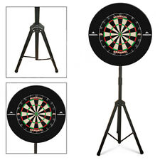 The Darts Caddy Kit, Dartboard Stand with Mission Samurai & Black Logo Surround